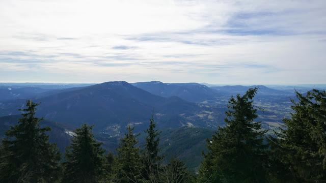 Łysa Góra Czechy szczyt