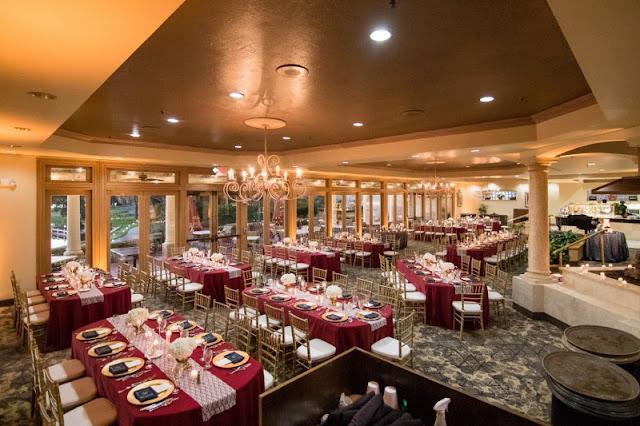 Mission Inn Resort ballroom setup