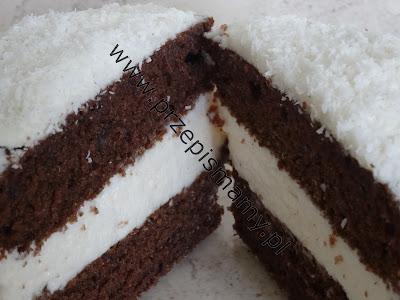 Ciasto piernikowe z pianką