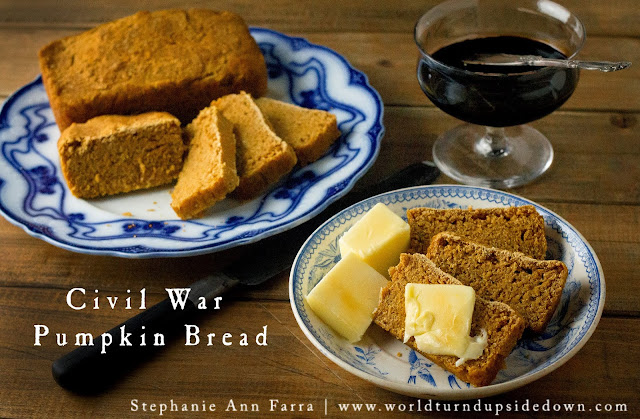 Civil War Recipes Bread Substitute Confederate 1863