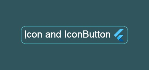 flutter icon iconbutton example