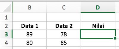mengenal fungsi average di Microsoft Excel