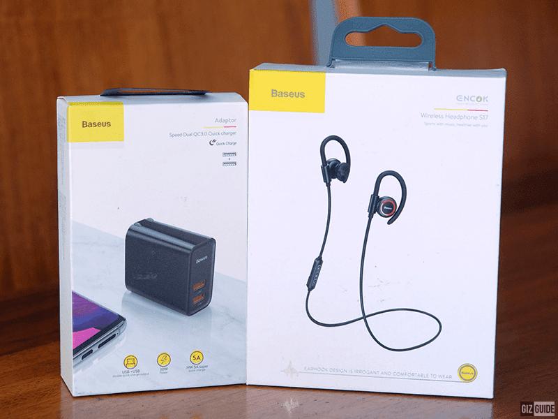 Power plug and Bluetooth earphones