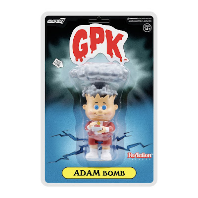 San Diego Comic-Con 2021 Exclusive Garbage Pail Kids Adam Bomb Red Edition ReAction Figure by Super7