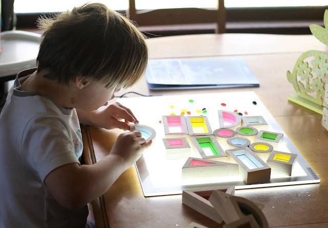 Light table for kids