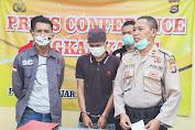 Kurang Dari 24 Jam, Unit Reskrim Polsek Banjar Berhasil Tangkap Tersangka Curat