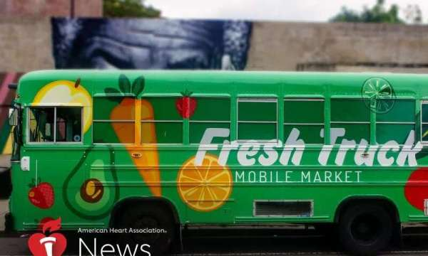 Fresh Truck Helps Boston's Neighborhoods Connect to Healthy Meals: AHA News