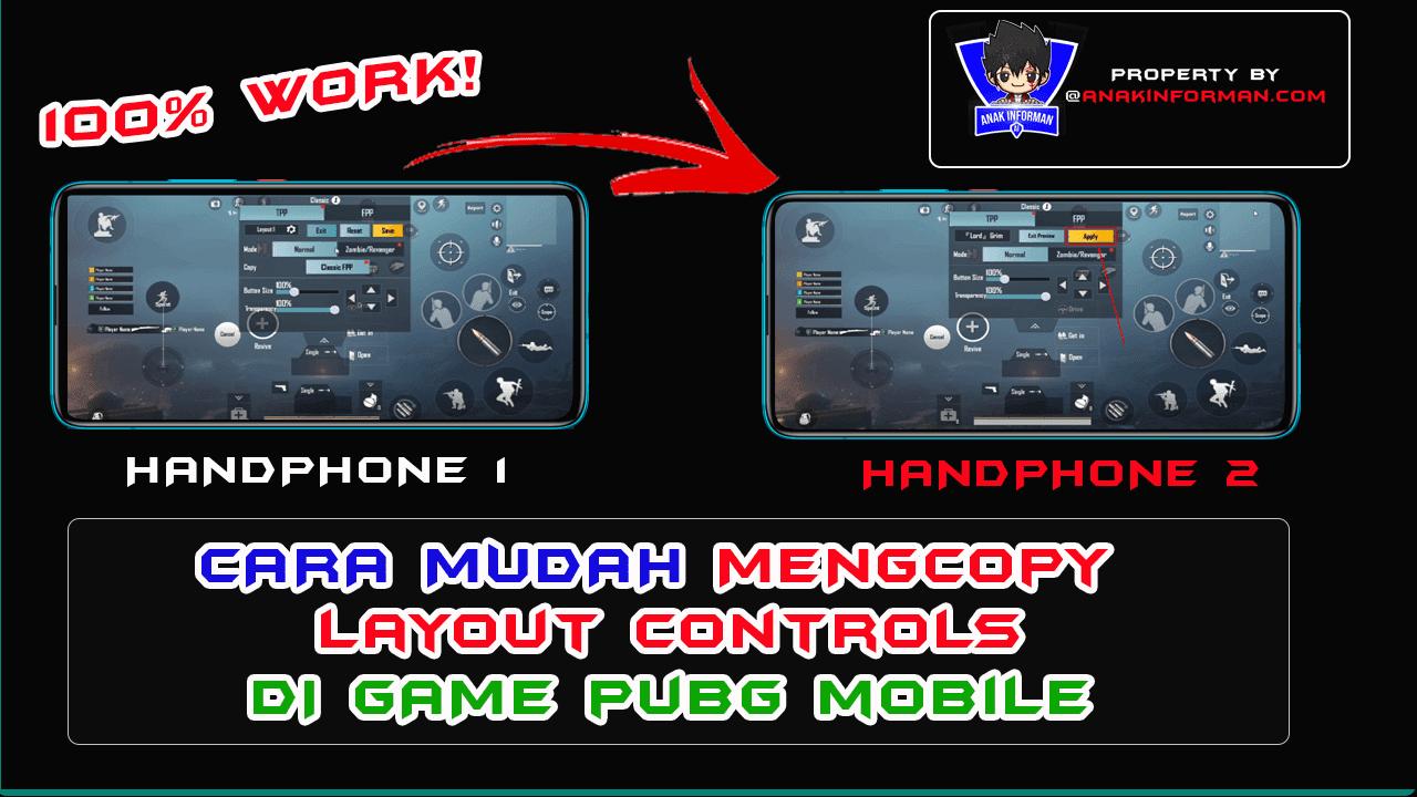 copy layout pubg mobile