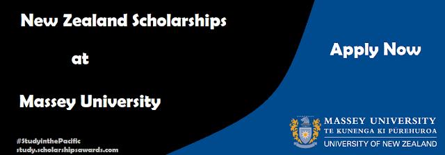 New Zealand Scholarships at Massey University