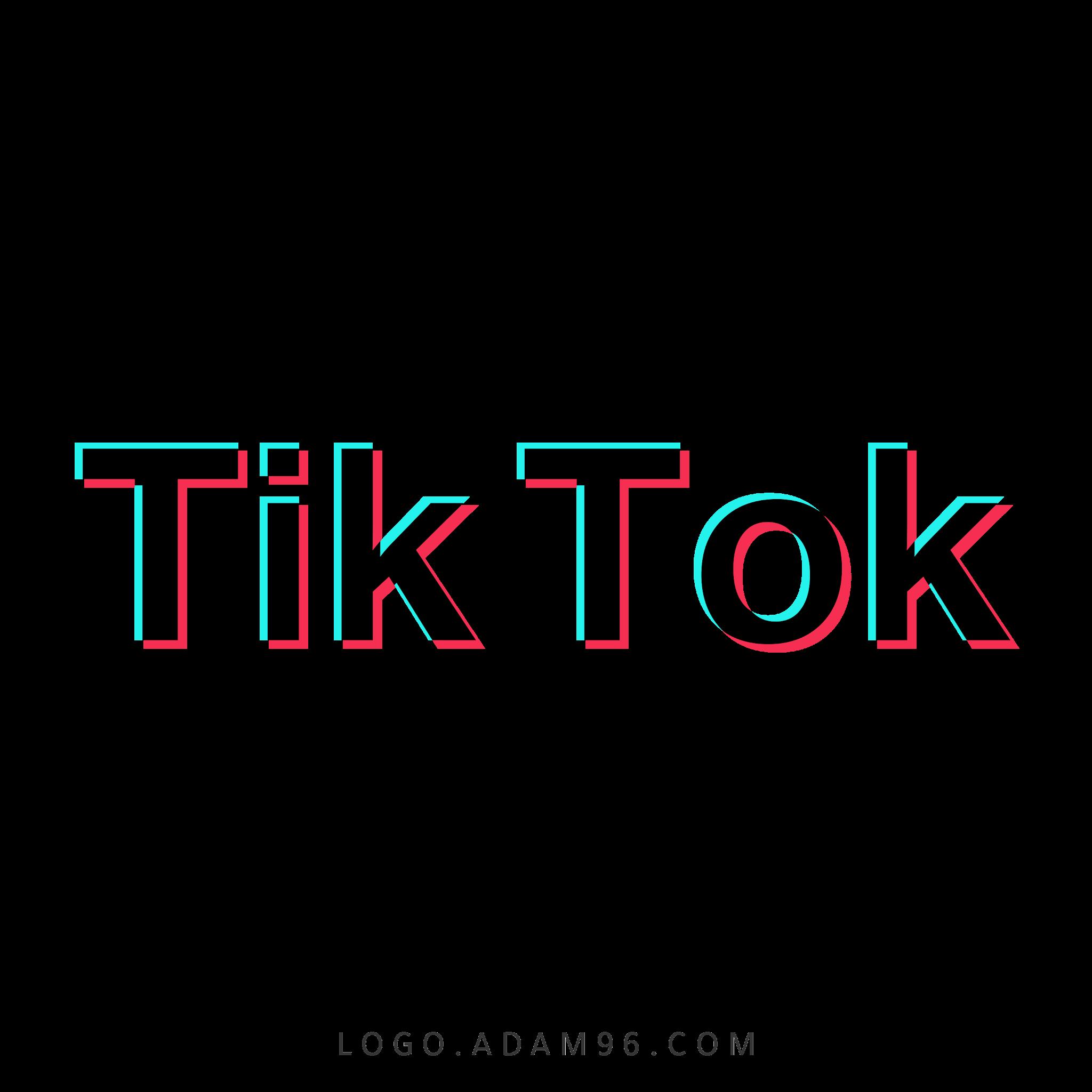 تحميل شعار تيك توك لوجو مميز بحجم كبير شفاف Logo Tik Tok PNG