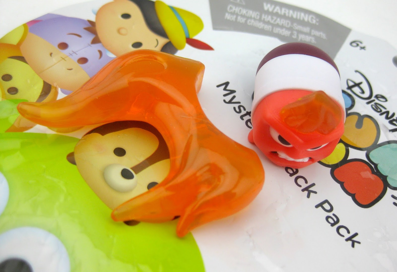 Disney Tsum Tsum Mystery Stack Packs by Jakks Pacific (Series 2) anger