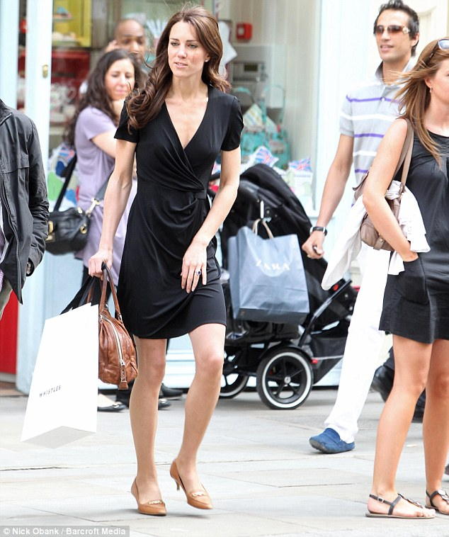 All About Kate Kate Middleton Pre Wedding Shops In Black