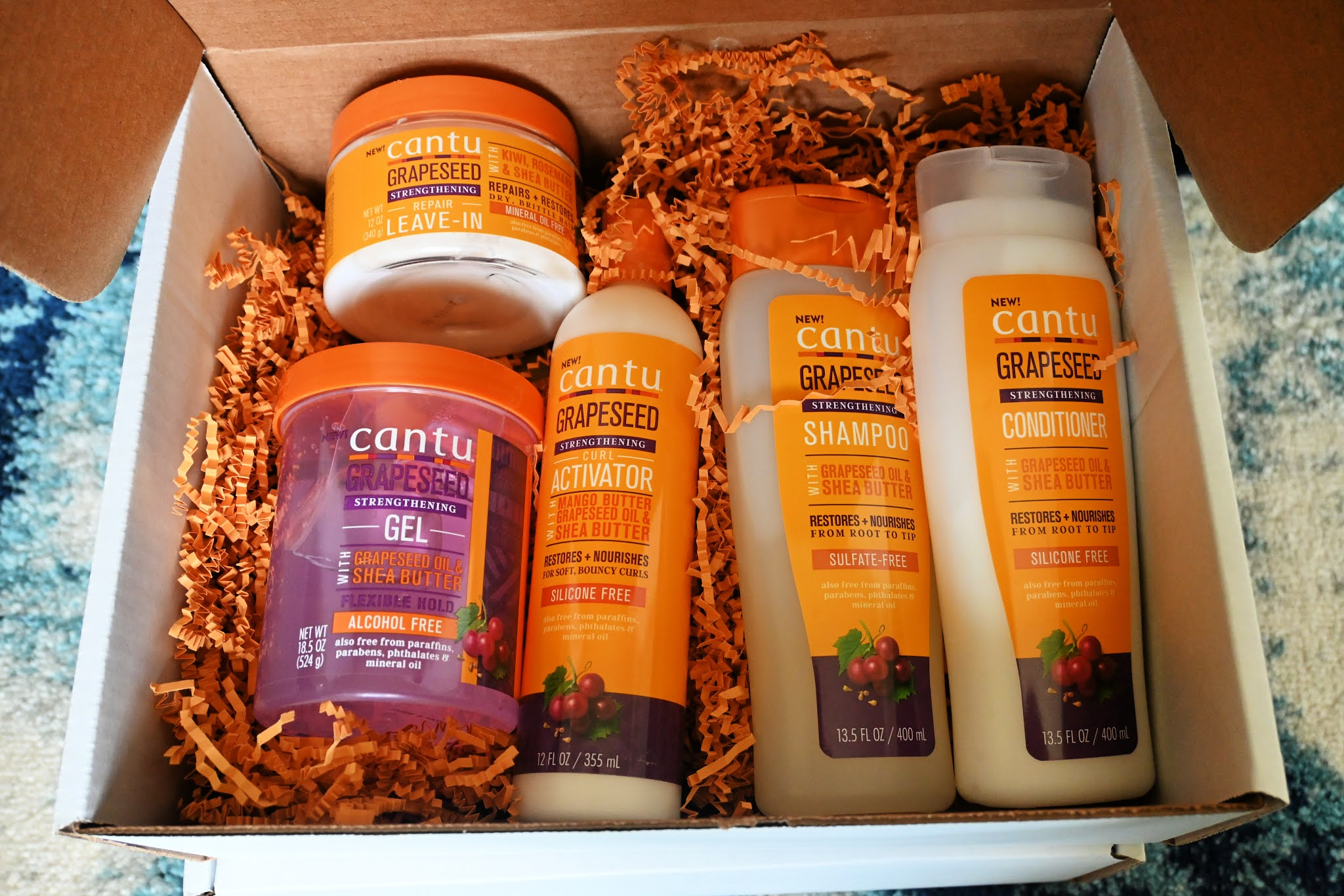 Cantu Beauty's Grapeseed Haircare Collection