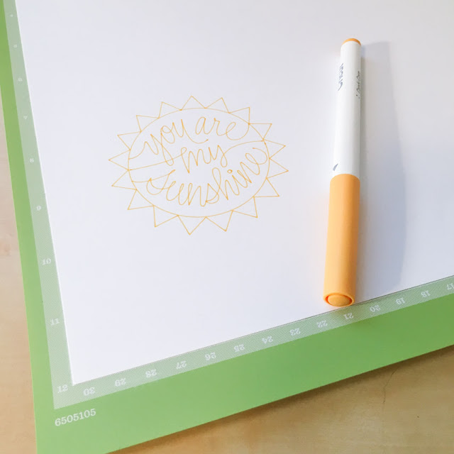 Cricut Explore Machine Pen Doodle by JGoode Designs