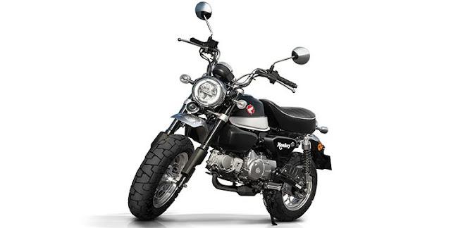 Motor Klasik Honda Monkey Hidup Kembali Dengan Pilihan 3 Warna, Tertarik?