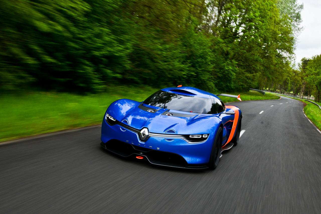 Sports Cars 2015: Renault Alpine A110-50 Supercar