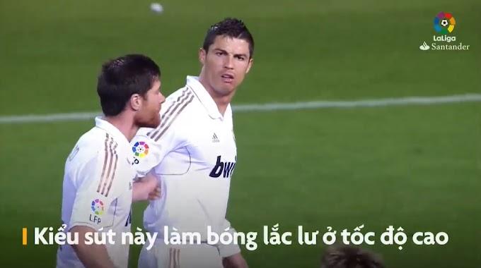 Tròn 8 năm Ronaldo sút phạt đánh bại Courtois