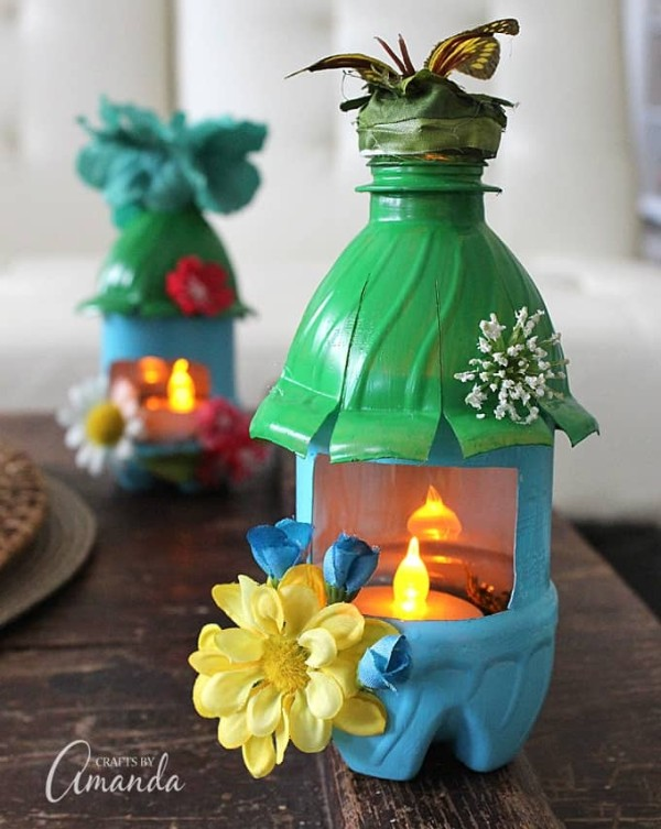 How to make a light up fairy house night light