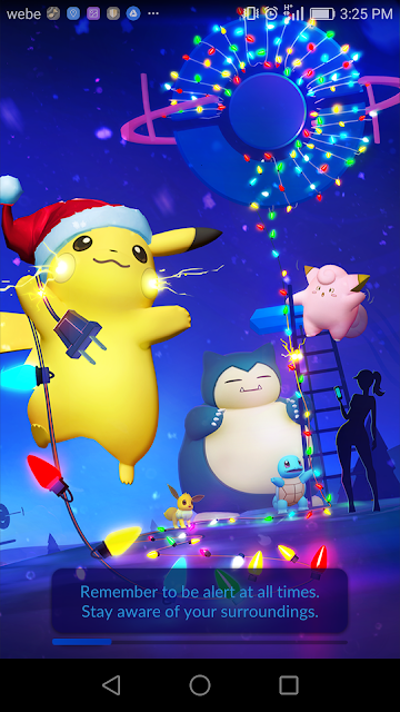 Pokemon Go December 2016 Theme