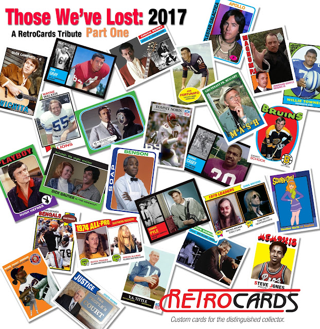 Topps, Deaths in 2017, sports, celebrities