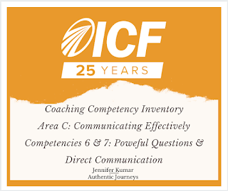 ICF Competencies Powerful Questions and Direct Communication