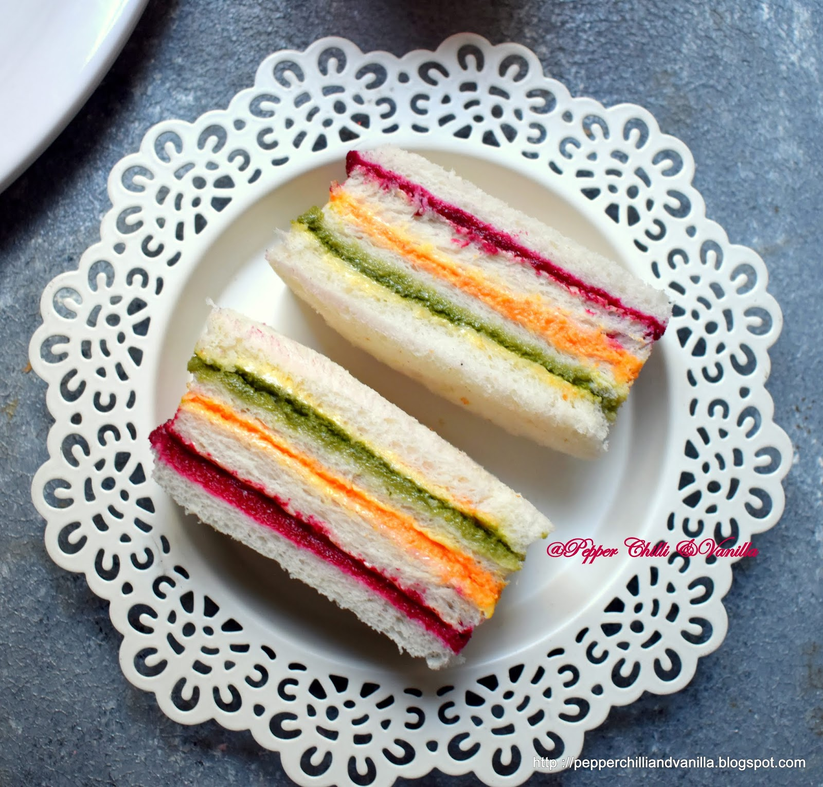 party sandwiches,finger food,party sandwiches,recipe for kids,coloured sandwiches,healthy sandwiches for kids
