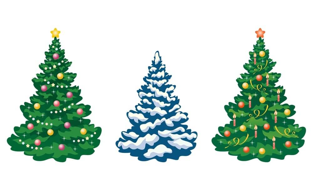 Christmas Tree Images Clip Art