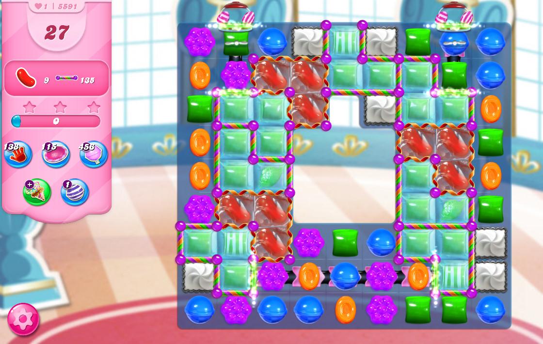 Candy Crush Saga level 5591