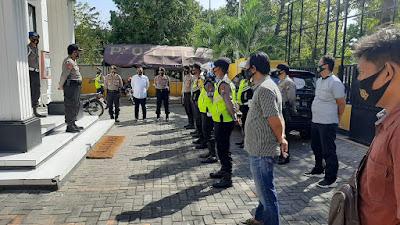 Siagakan Personel di KPU, Polres Tuban Siap Amankan Tahapan Pilkada