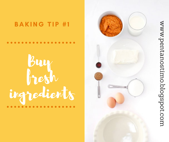 Pentanostimo Baking - Cooking Tips