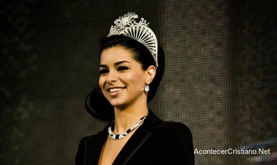 Reina de belleza ex musulmana