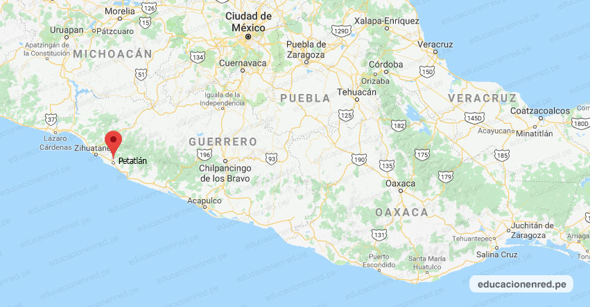 Temblor en México de Magnitud 4.6 (Hoy Lunes 18 Enero 2021) Sismo - Epicentro - Petatlán - Guerrero - GRO. - SSN - www.ssn.unam.mx