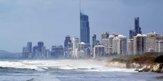 Storm surge in Australia: There's more to come as world warms by 2100. (Image Credit: CSIRO, via Wikimedia Commons) Click to Enlarge.