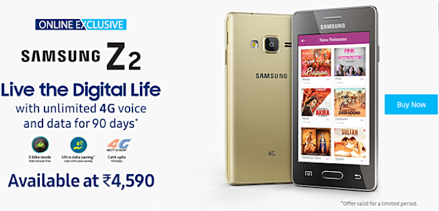 Tizen-Powered Samsung Galaxy Z2 Now Available For Purchase In India