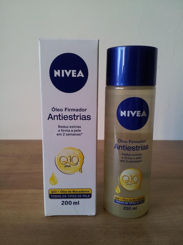 Resenha: Óleo Firmador Antiestrias Q10 Plus - NIvea