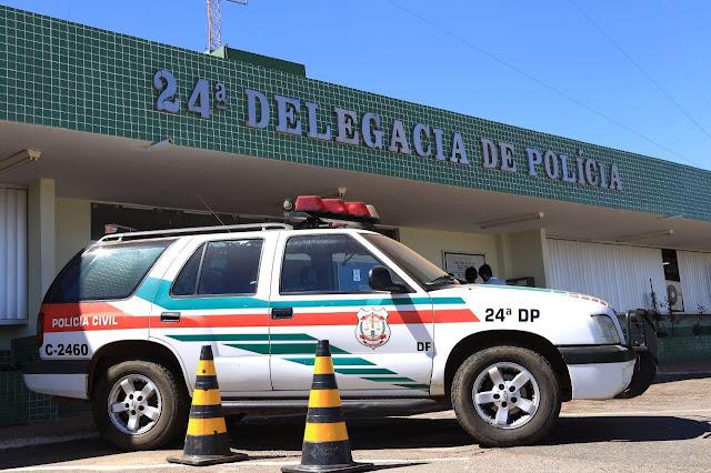 24ª delegacia de polícia prende traficantes em Ceilândia