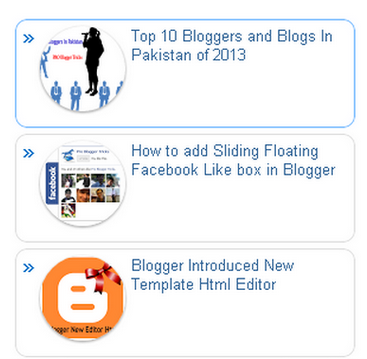 popular posts in blogger