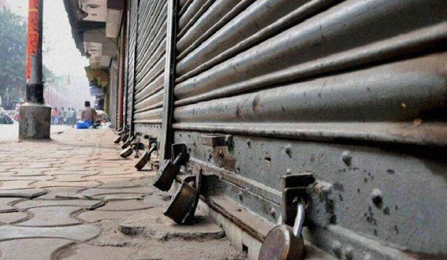 Bandh fails to evoke any response in the Hills