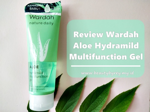 Review Wardah Aloe Hydramild Multifunction Gel