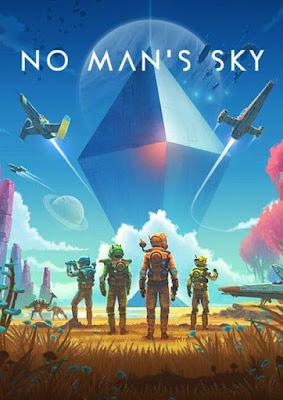 Capa do No Man's Sky