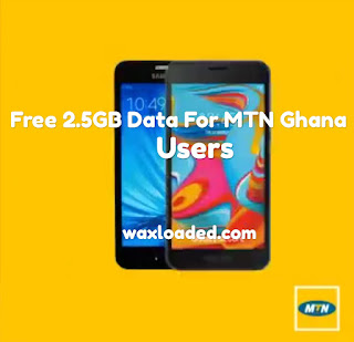 Enjoy Free 2.5GB on MTN Ghana Sim card