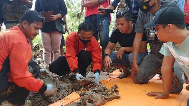 Mayat Pengusaha Meubel Disimpan Selama 7 Tahun Dalam Karung, Pelaku Nangis saat Kuburan Digali