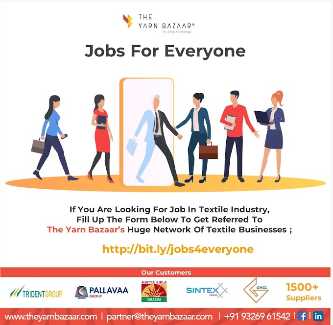 Jobs for Everyone by The Yarn Bazaar