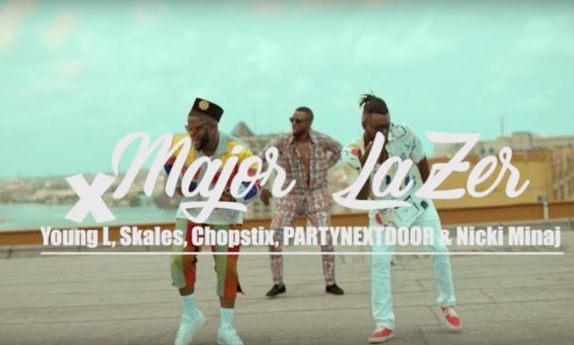 Video: Major Lazer ft. Partynextdoor, Nicki Minaj, Yung L, Skales & Chopstix – Run Up (Afrosmash Remix)