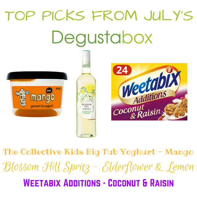 Top Picks from July's Summer Degustabox