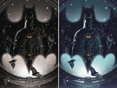 "Batman ""Silent Knight"" Screen Print by Matt Ryan Tobin x Bottleneck Gallery x DC Comics"