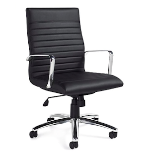 otg ribbed back chair