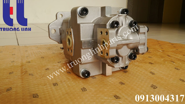 Bơm thủy lực bánh răng 705-52-30260 máy xúc lật Komatsu WA500-1