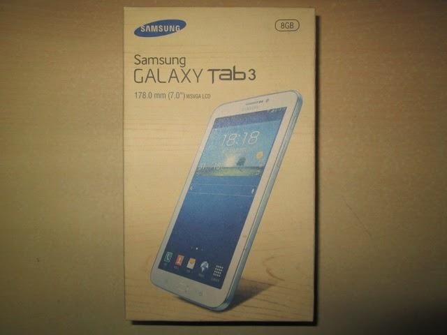 """Dus Samsung Galaxy Tab 3 7"""" Bekas Layak Pake"""