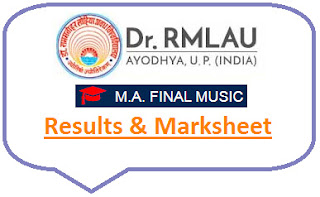 Avadh University MA Music Final Result 2021